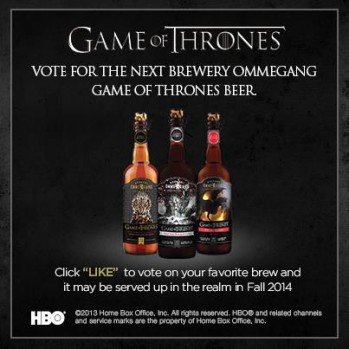 Game of Thrones brewski