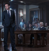 """Robert Downey, Jr. finds himself defending his father (Robert Duvall) in """"The Judge."""""""