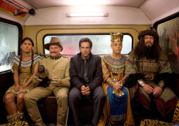 """Ben Stiller and his friends from the American Museum of Natural History visit London in """"Night at the Museum: Secret of the Tomb."""""""