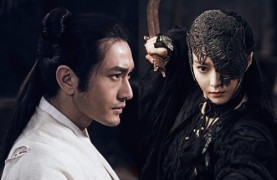 "Fan Bingbing has the Zorro thing going on in ""White Haired Witch."""