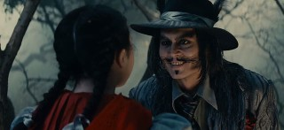 "Johnny Depp digs the younger chicks as the wolf in ""Into the Woods."""
